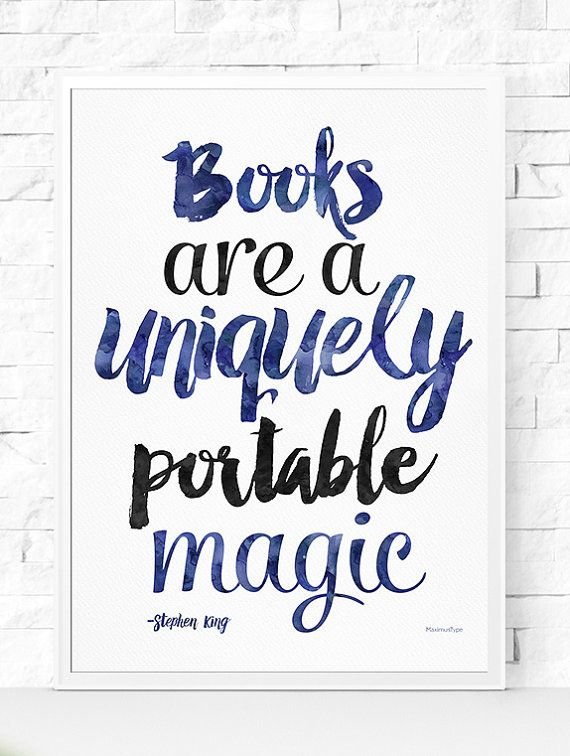 Or this one. | 27 Literary Prints To Hang In Your Home Library