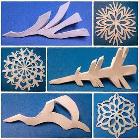 Ella en Louis: DIY Paper Snowflakes  Katelyn & I LOVE to make snowflakes. Definitely doing this.