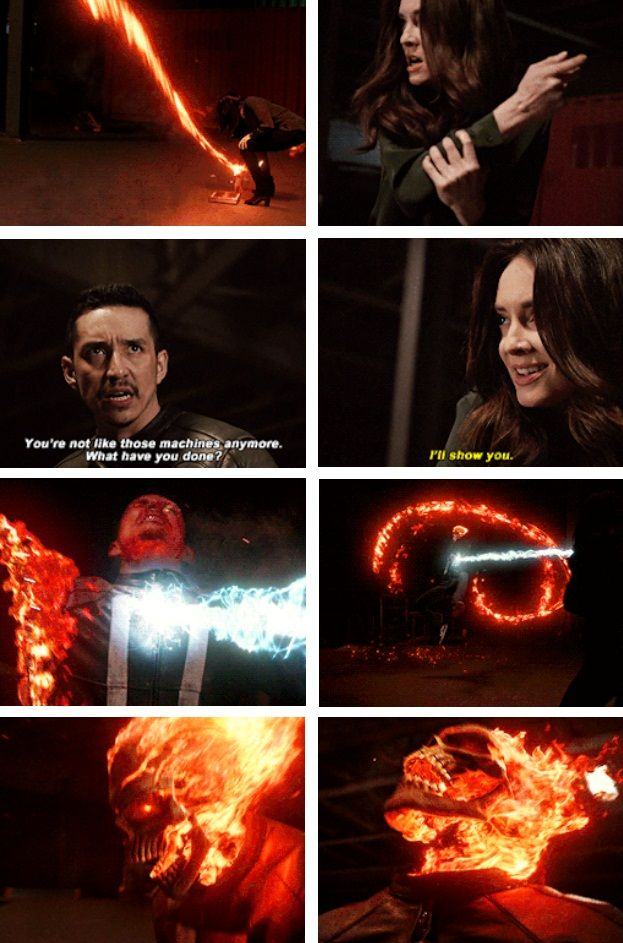 """Robbie: You're not like those machines anymore. What have you done? AIDA: I'll show you. #Marvel Agents of S.H.I.E.L.D. #AoS #AgentsofSHIELD 4x22 """"World's End"""""""