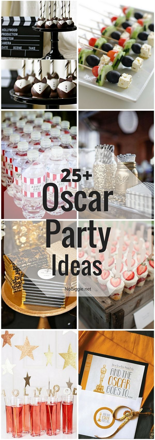 25+ Oscar Party Ideas | NoBiggie.net