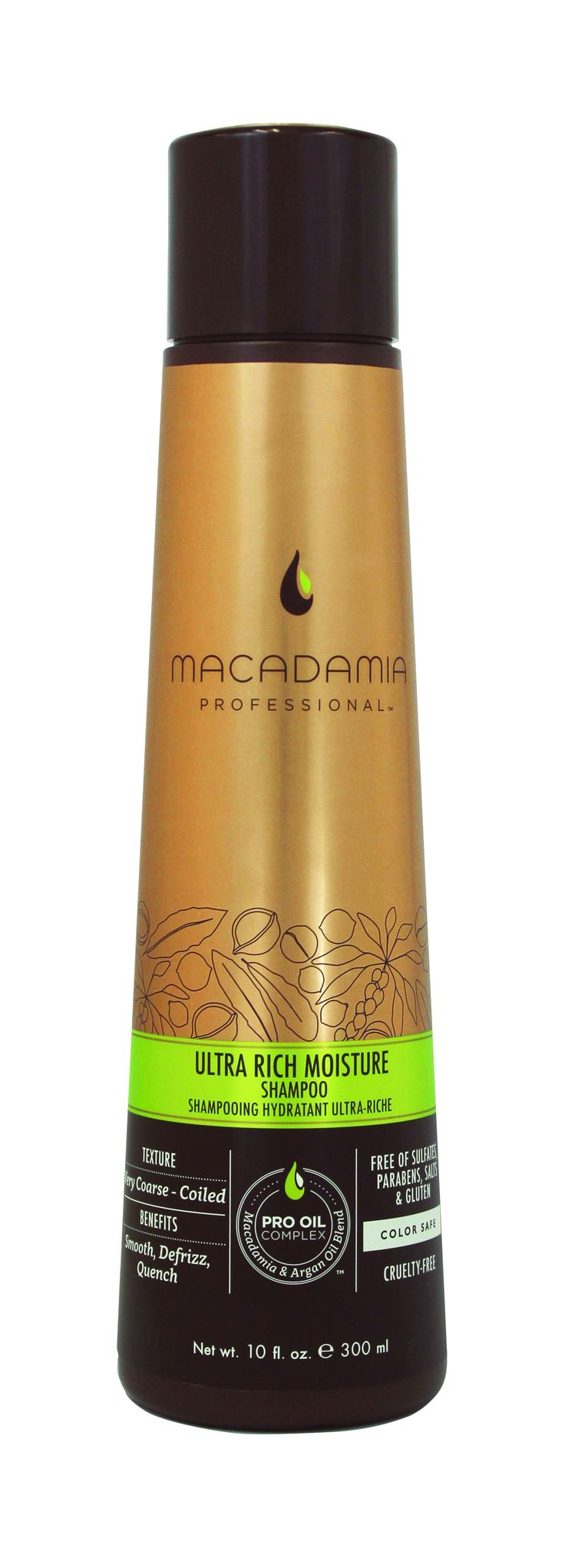 Macadamia Professional Ultra Rich Moisture Shampoo 300ml.