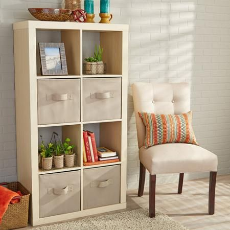 Better Homes And Gardens 8 Cube Organizer Multiple Colors Gardens Fabric Storage And Home