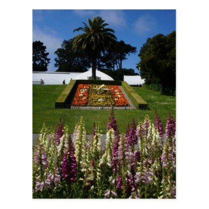 San Francisco Floral Clock Postcard - diy cyo customize create your own personalize