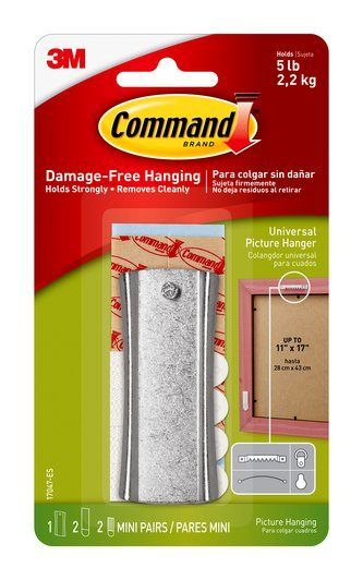 17047-ES Command(TM) Universal Picture Hanger w/Strips