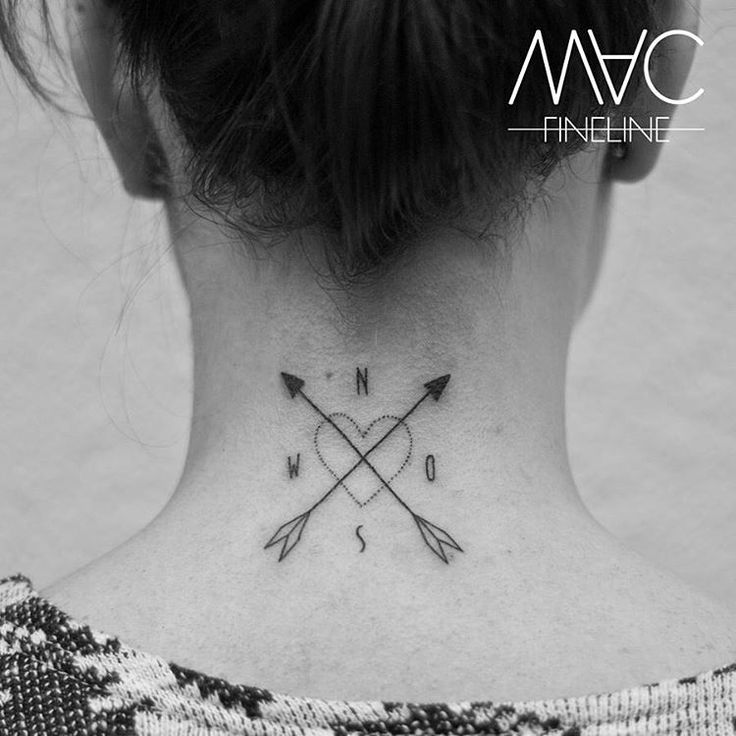 Die Richtung des Herzens ist nicht immer eindeutig #arrow #kompass #filigran #filigree #filigreetattoos #macfineline #macfinelinetattoo #linetattoo #north #east #south #west #smalltattoo #littletattoo #nacken #nackentattoo #stilbruch #stilbruchtattoo #ink #inked #inkedgirl #inkstagram #tattoooftheday #tattooofinstagram #berlin #berlintattooartist #friedrichshain #grüsseankaro