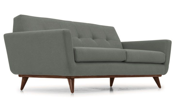 Hughes Leather Loveseat