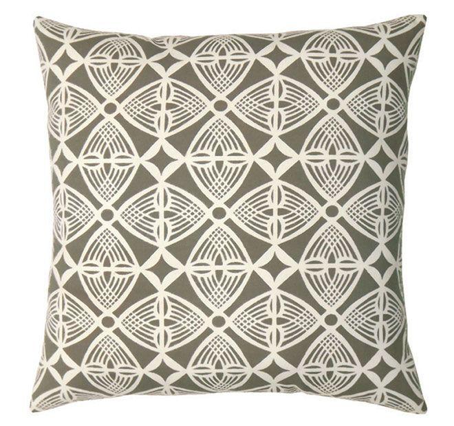 DG37 Deco 50x50cm Filled Cushion Grey