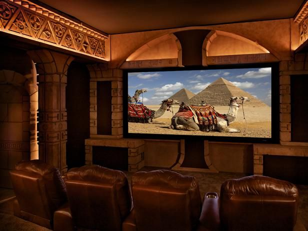Egyptian Hideaway Theater This Design Was Inspired By The