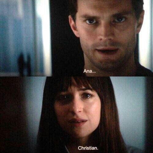 Ana y Christian. #FSOG