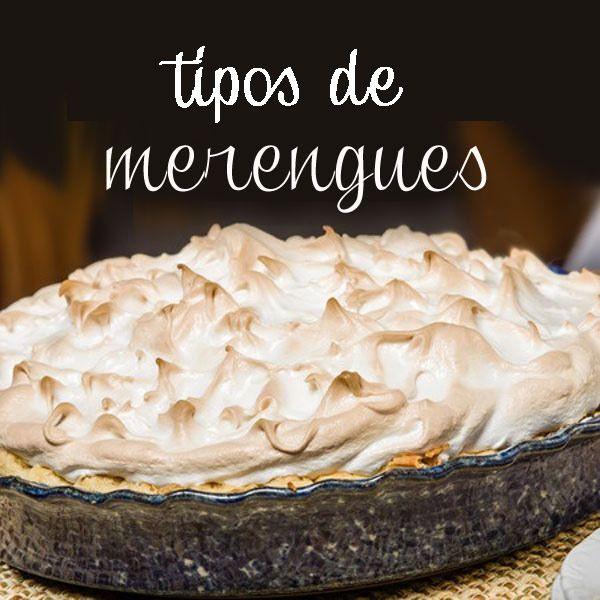 Aquí puedes ver cómo se elaboran los distintos tipos de merengues y recetas para prepararlos, así como aprender cuáles son sus usos en nuestra repostería casera.