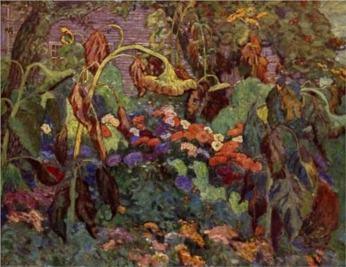 The Tangled Garden - J. E. H. MacDonald