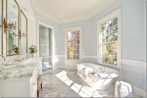 light blue bathroom beautiful floors Bathrooms Pinterest