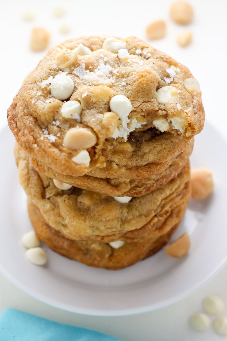 Brown Butter White Chocolate Macadamia Nut Cookies! These look superb!