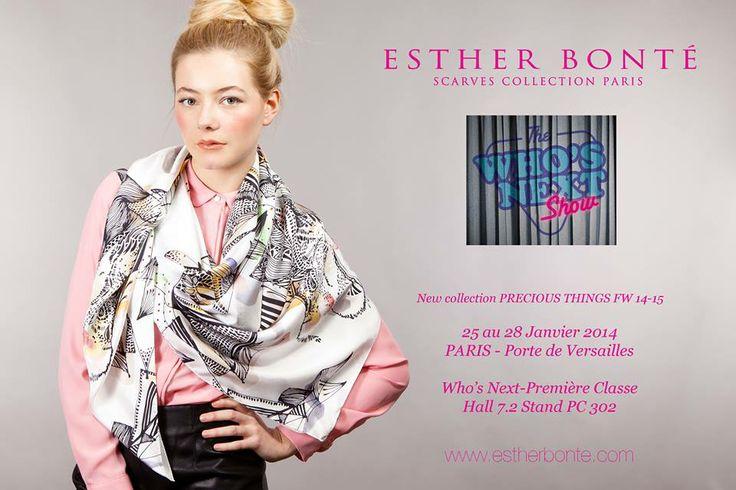 FASHION WEEK : Esther Bonté Paris au Who's Next / Première Classe | GENTLEMEN talents