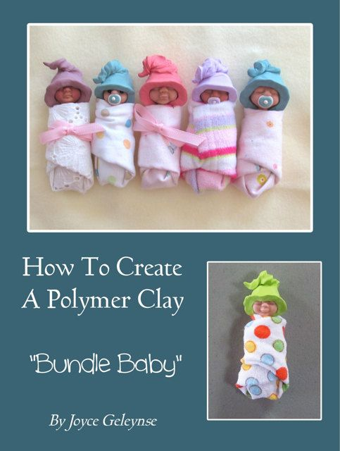 Clay Baby Tutorial PDF File Download Instantly by joycesclay, $7.00