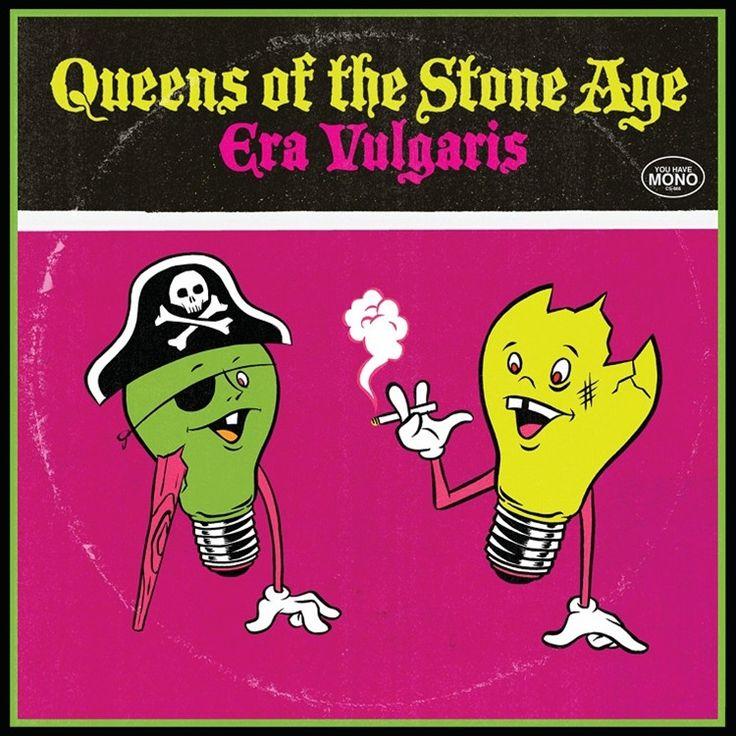 "Queens Of The Stone Age - Era Vulgaris on 3 x 10"" Vinyl"