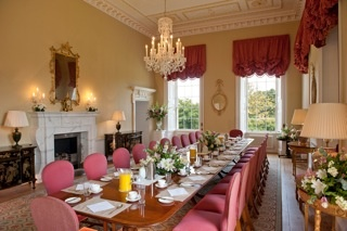 Breakfast Room at Botleys Mansion - for the morning after your wedding day