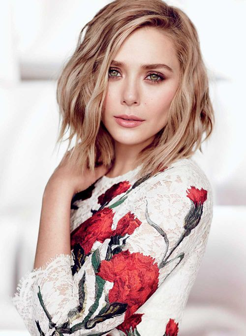 FASHION Magazine May 2015 Cover: Elizabeth Olsen