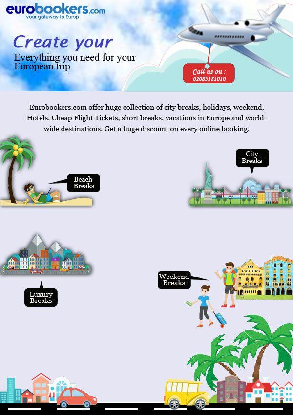 Cheap European city breaks   Weekend Breaks & Short Break in Europe   Book now with Eurobookers.com