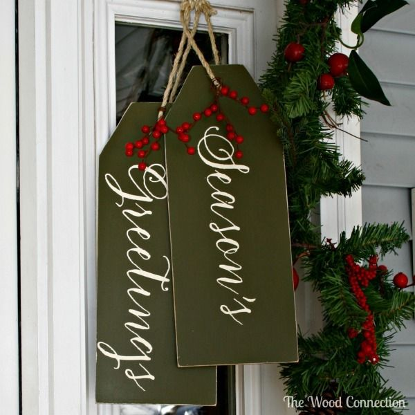 Seasons Greetings Tag Door Hang Seasons The O Jays And Tags