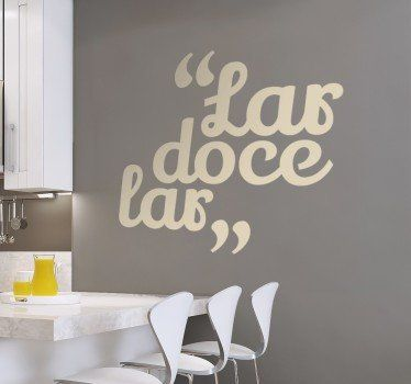 This Wall Sticker Will Look Nice On Wall Of Your Kitchen! #kitchen # Decoration Part 65