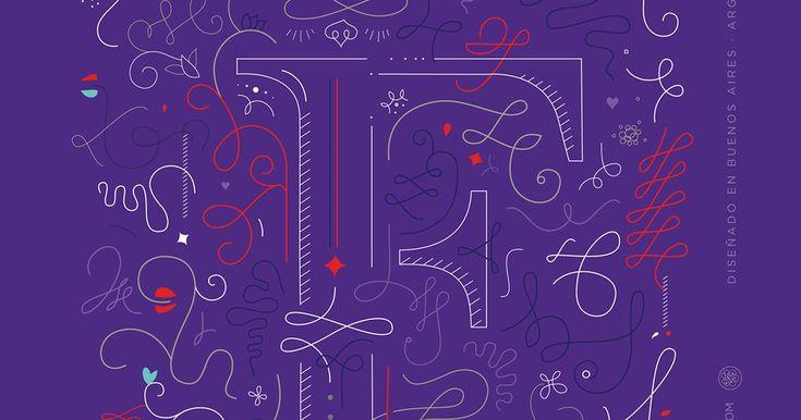 En lo más fffres.co: Los letterings de Florencia Suárez muestran más que palabras: Esta diseñadora argentina entiende las palabras como…