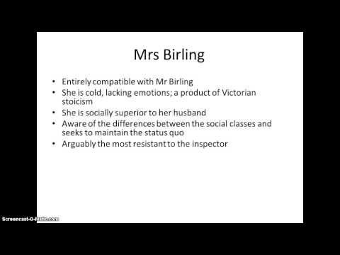An Inspector Calls Revision: Characters - YouTube