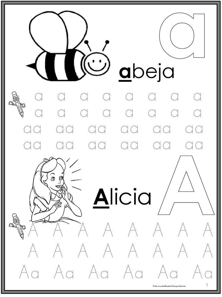 Libro mágico para fotocopiar de primer grado con actividades para trabajar las letras del alfabeto y la escritura