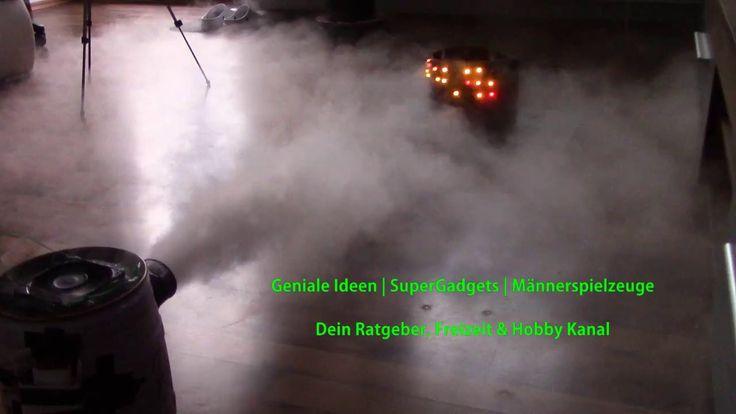 DIY   Nebelmaschine - einfach selbst gemacht!