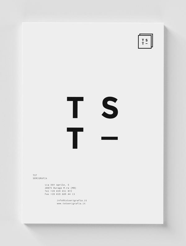 TST identity on Behance