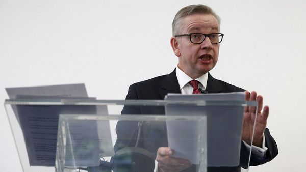 Michael Gove has said Britain should not trigger Article 50, the legal mechanism for leaving the EU, until at least next year, putting the Conservative leadership hopeful at odds with European leaders. Launching his campaign to become prime minister,
