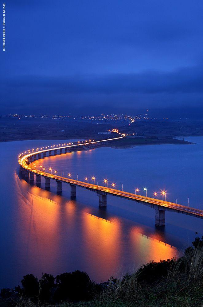 Γέφυρα Σερβίων, θέα από Νεράιδα