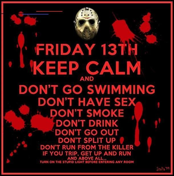 50 Funny Friday The 13th Memes To Ease Your Superstitious Fears Turn Your Luck Around Happyfridaythe13thfunny It Doesn T Have To Be Unlucky Silly