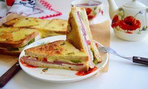 Acestesandwich-uri aperitiv, preparate la cuptor sunt foarte bune, servite fie ca aperitive, fie se pot lua la pachet, la scoala sau la serviciu, pentru ca sunt bune atat calde cat si reci si sunt foarte satioase.