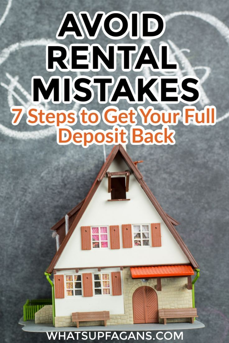 7 Steps To Get Your Security Deposit Back In Full Personal Finance Articles Being A Landlord Deposit