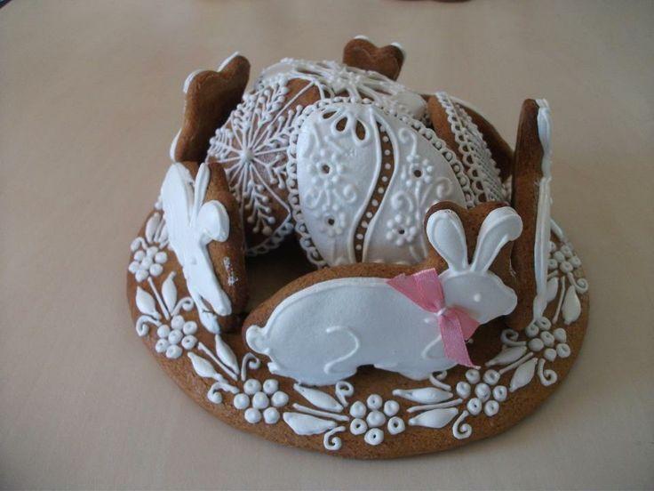 so cute! easter bunny rabbit cookies