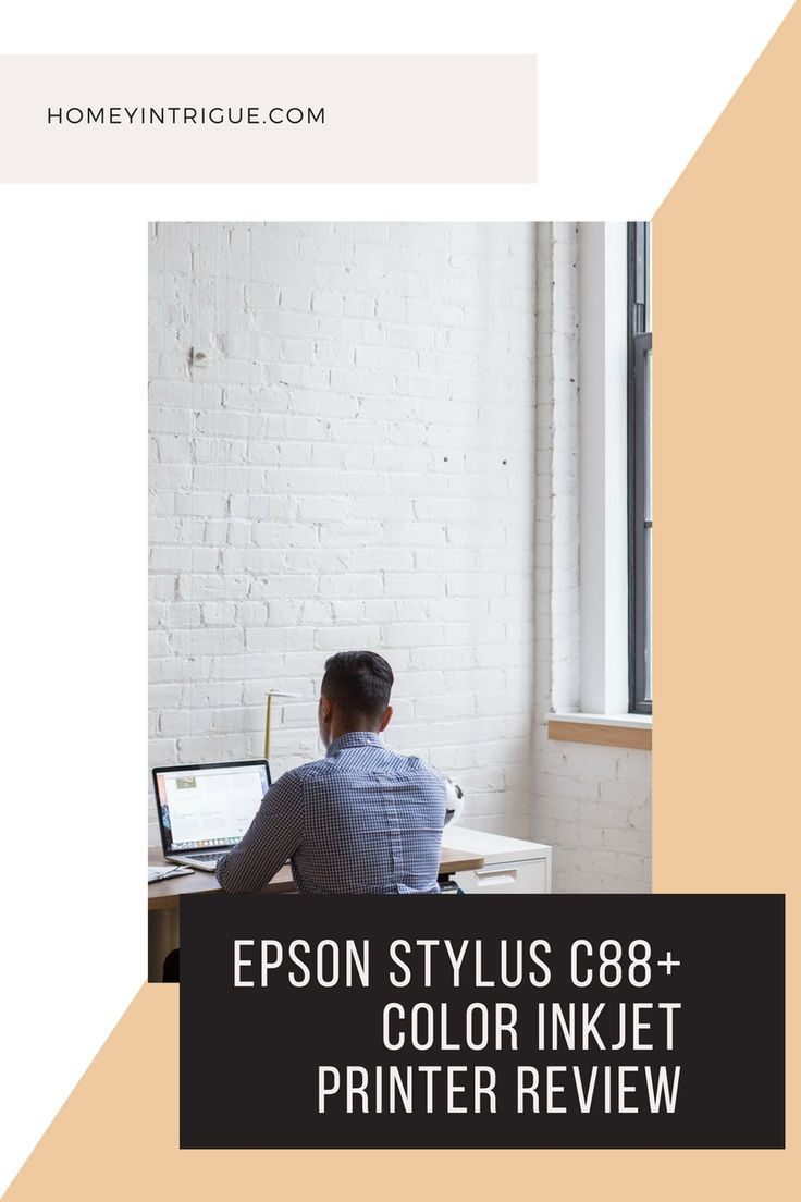 read my Epson Stylus C88+ Color Inkjet Printer Review