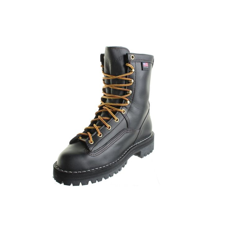 Danner Womens Rain Forest Leather Recraftable Work Boots