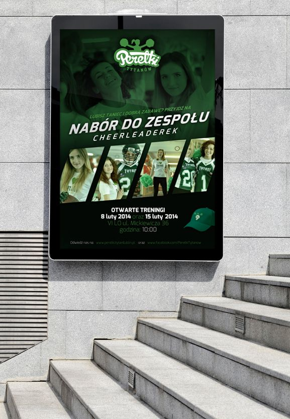 Perełki - Cheerleaders Team Logo and Photoshoot on Behance