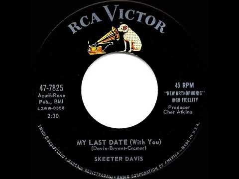 1961. Skeeter Davis. YouTube's premiere vintage music channel for comprehensive original-version hit collections spanning the entire 1950s, 1940s, and 1930s decades. Highlighted ...