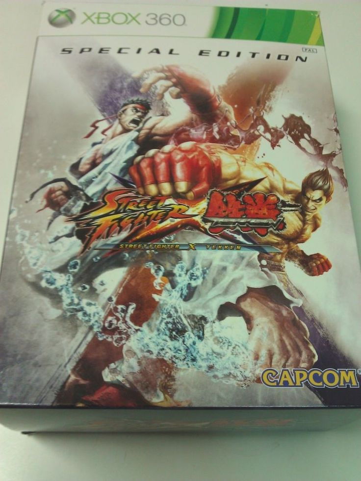 Street Fighter X Tekken with accessories Special Edition Xbox 360