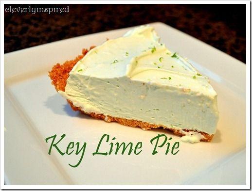 Easy Key Lime Pie   Quick Recipes   Pinterest