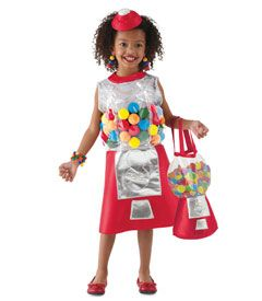 gumball machine costume - Chasing Fireflies...for a girl!!! Too cute!!!!!