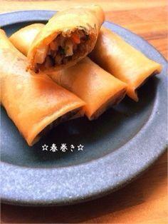 ☆春巻き☆ by ☆栄養士のれしぴ☆ [クックパッド] 簡単おいしいみんなのレシピが224万品