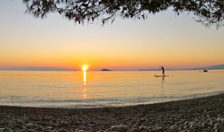 This photo was taken on Skopelos, Greece. Its a nice place to SUP. #Skopelos #SupGreece #StandUppaddleBoarding