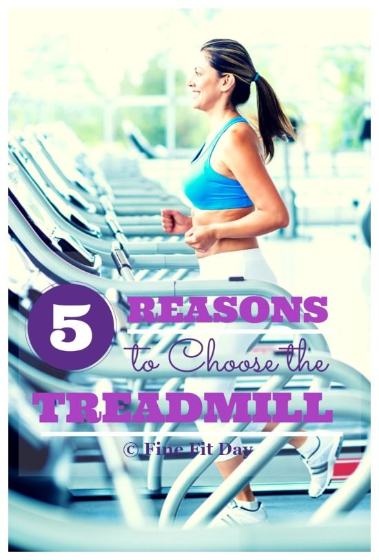 Running Tips - 5 Reasons to Choose the Treadmill. Sometimes it's obvious when it's a better idea to run indoors. But when you're struggling to decide between heading out to your favorite trail, or the nearest mill, this is a good guide to keep handy.