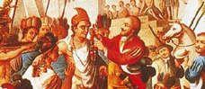 Toen de Spaanse ontdekkingsreiziger Cortès in 1519 bij de Azteken verscheen, zagen zij hem aan voor Quetzalcoatl en werd hij met cadeau's overladen.