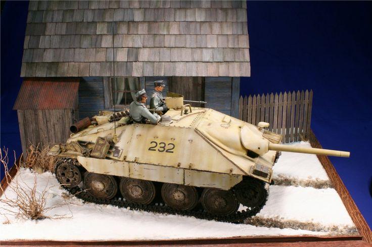 Sd.Kfz.138/2 Jagdpanzer 38(t) Hetzer Light Tank Destroyer (Germany)