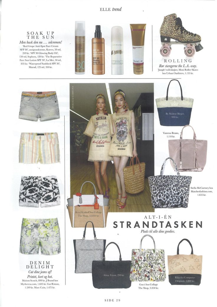 Julie Fagerholt / Heartmade bag in Elle Denmark