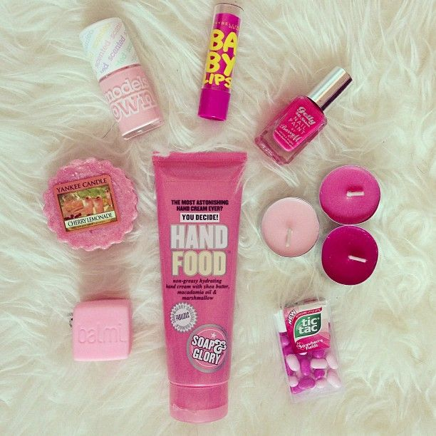 Cute pink girly things images for Cute girly things tumblr